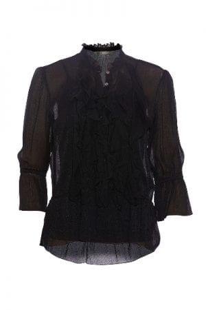 PBO – Skjorte med flæse