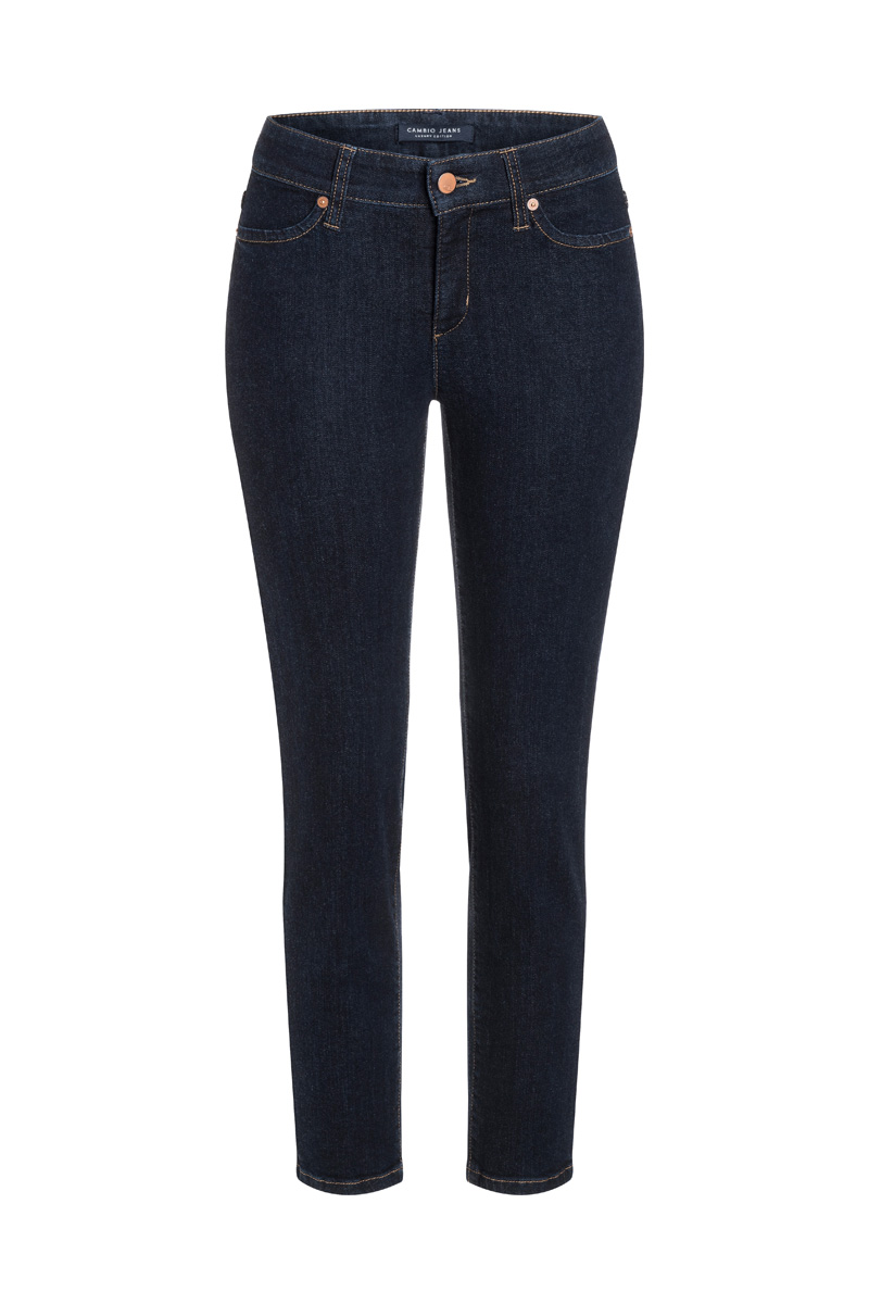 CAMBIO – Jeans med lyn/simili