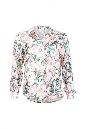 iN FRONT – Skjorte med blomster
