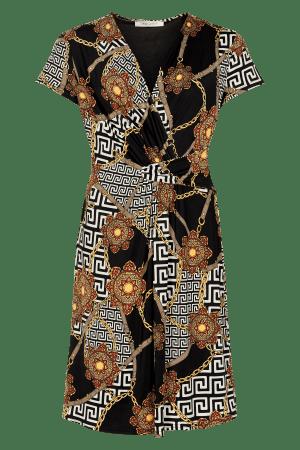 iN FRONT – Kjole med print