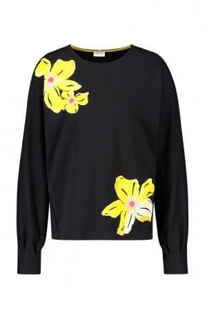 GERRY WEBER – Sweatshirt med blomster