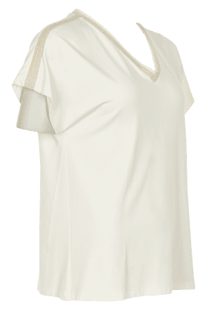 IN FRONT – T-shirts med guldbord