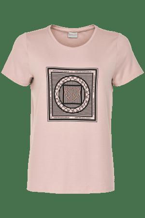 IN FRONT – T-shirts med mønster