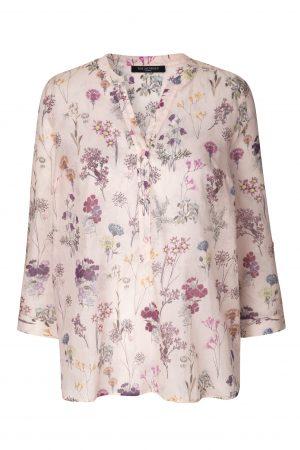 ILSE JACOBSEN – Skjortebluse med blomster