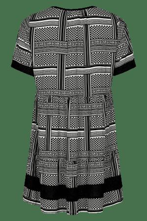 IN FRONT – Tunika med mønster