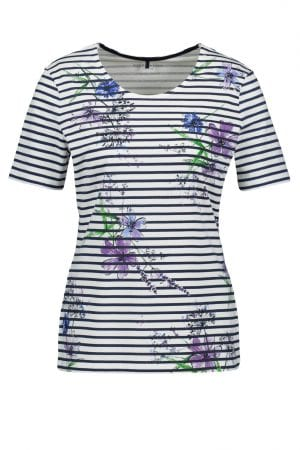 GERRY WEBER – T-shirts i striber og print