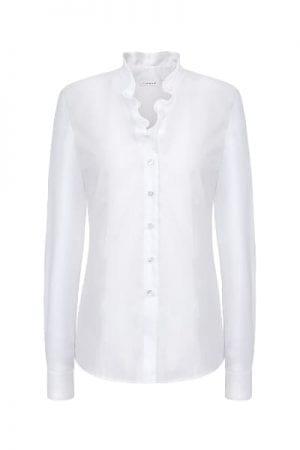 ETERNA – Skjorte med flæse