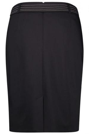 GERRY WEBER – Nederdel med hvide stikninger