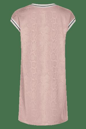 IN FRONT – Kjole med slange struktur