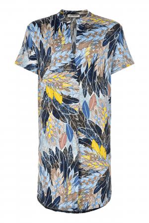 IN FRONT – Tunika/skjorte med fjer