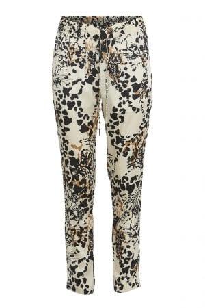 PBO GROUP – Bukser med leopard print