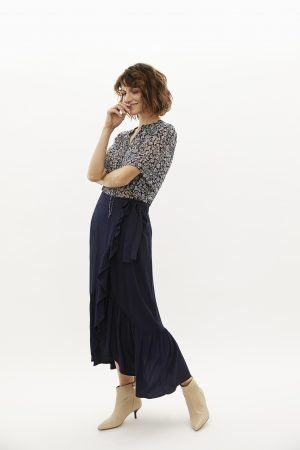 PART TWO – Bluse chiffon med print