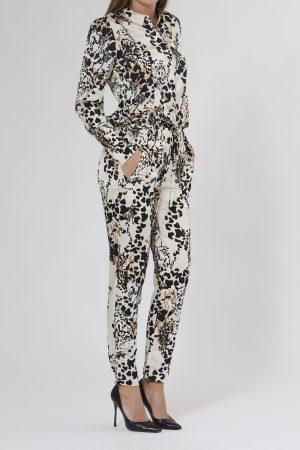 PBO GROUP – Skjorte med leopard print