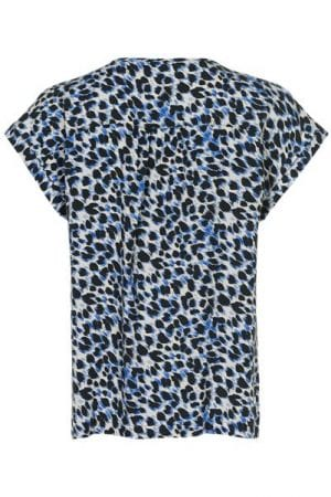 IN FRONT – Bluse med print