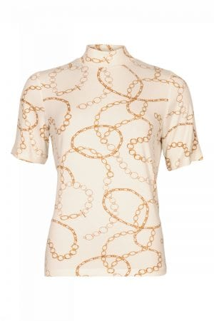 MICHA – T-shirts med bidsel print