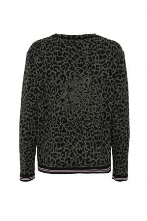 LIND – Strik i leopard mønster