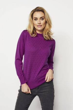 MICHA – Strik med turtleneck