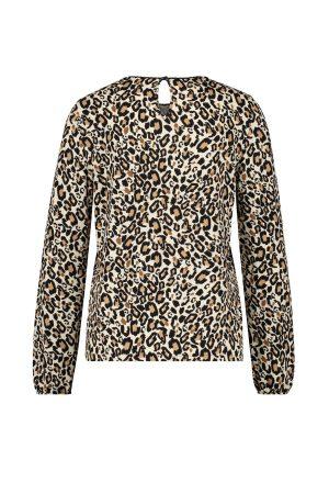 GERRY WEBER – Bluse i leopard