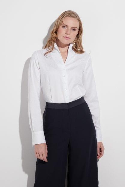 ETERNA – Skjorte i jaquard vævning