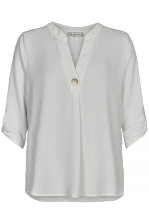 IN FRONT – Skjorte/bluse med V-udskæring