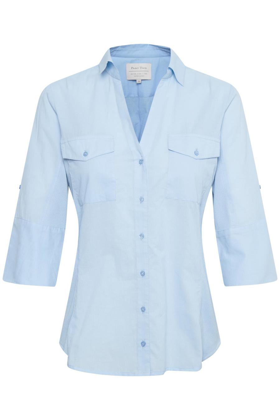 PART TWO – Skjorte med rib i siden