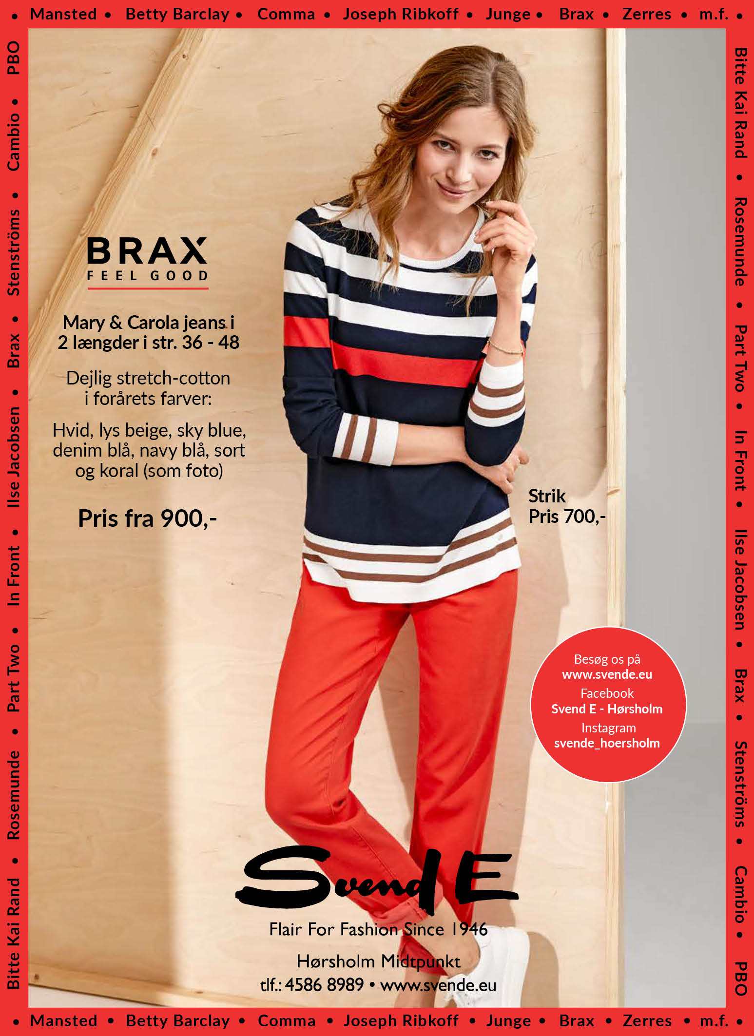 Gå foråret i møde med BRAX