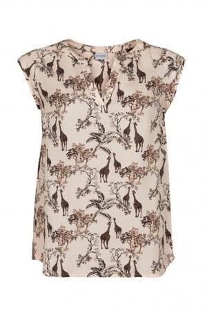 IN FRONT – T-shirts med print af giraffer