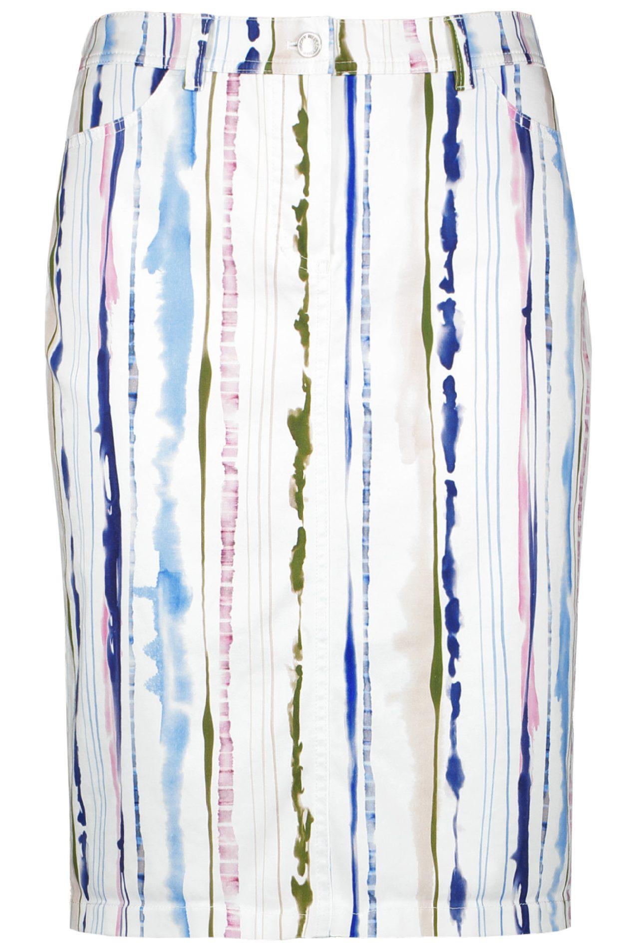 GERRY WEBER – Nederdel med striber