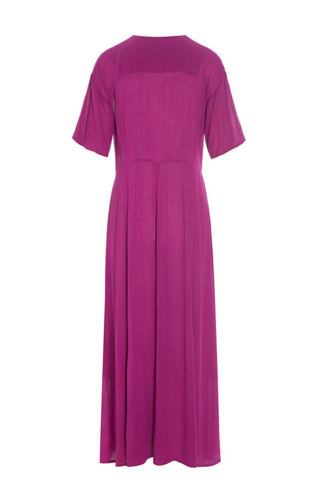 BITTE KAI RAND – Lang kjole med luftige ærmer