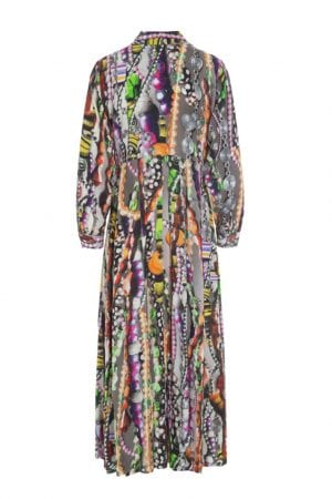 BITTE KAI RAND – Lang kjole med print