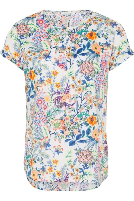 ETERNA – Bluse med blomster print