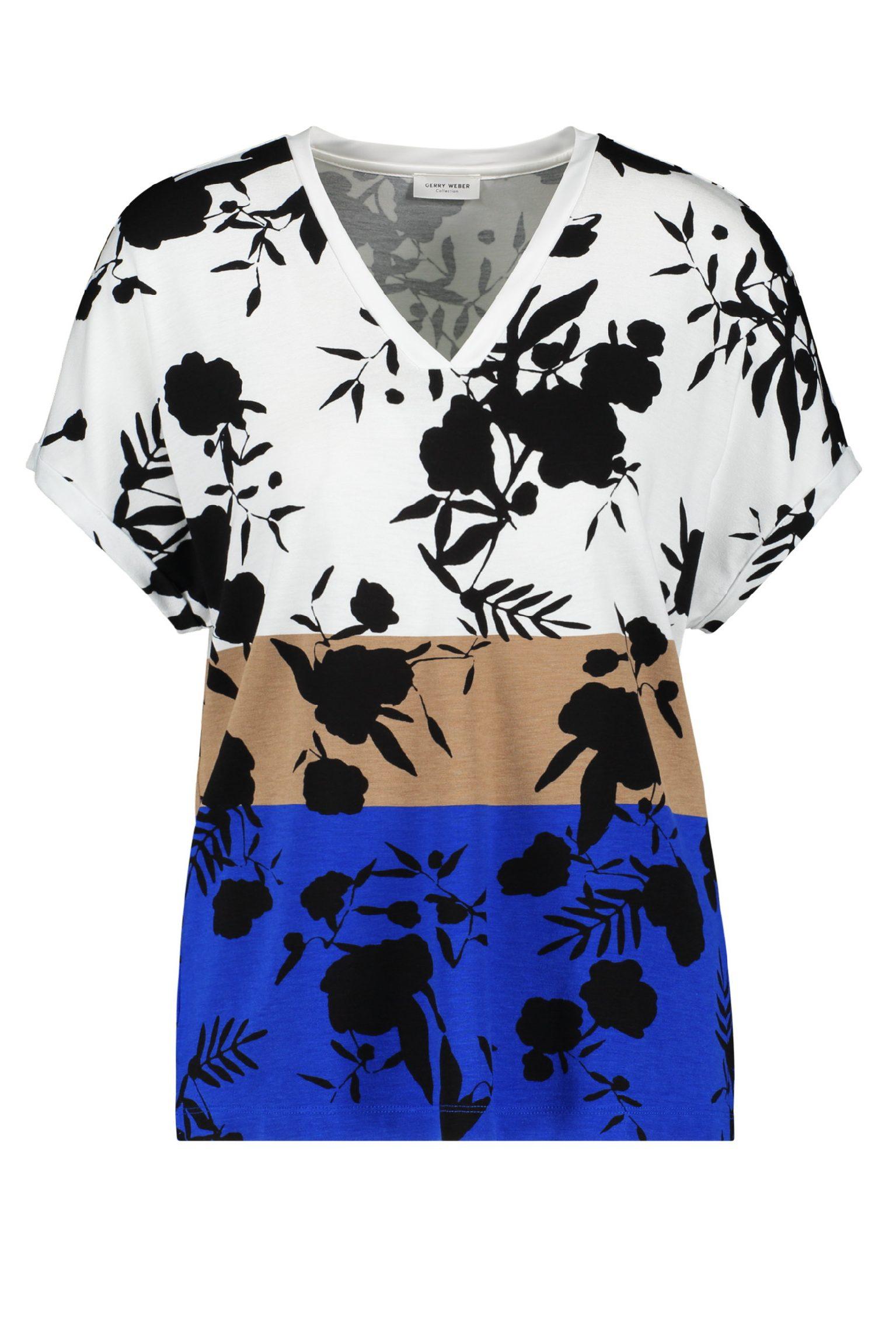 GERRY WEBER – T-shirts i 3 farvet og print