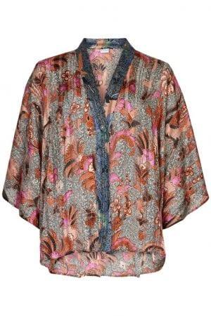 IN FRONT – Kimono med print