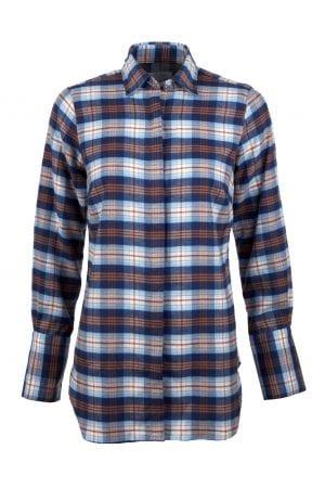 """STENSTRÖMS – Skjorte med tern """"skovmand"""""""