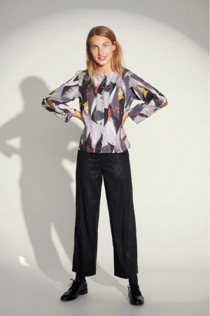 BITTE KAI RAND – Skjorte/jakke med print
