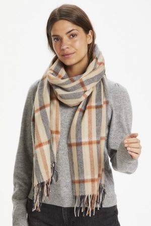 PART TWO – Tørklæde i uld med tern