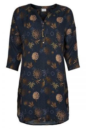 IN FRONT – Tunika/skjorte i gyldne farver